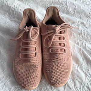 Adidas light pink sneakers